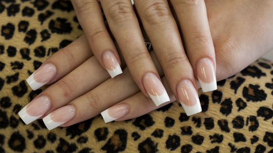 На длинные ногти