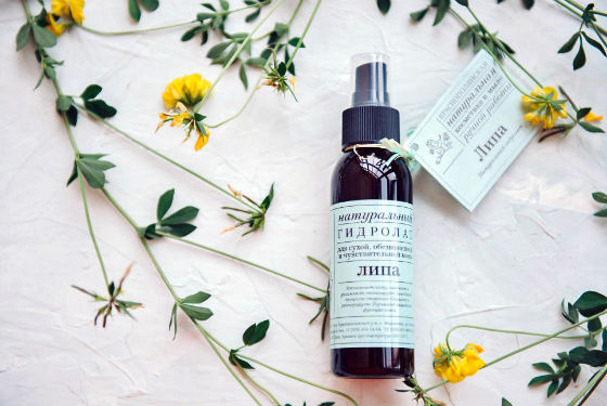 Липовая цветочная вода для сухой кожи