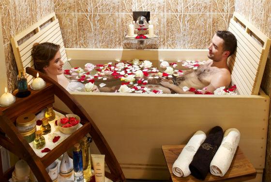 Расслабляющие процедуры для романтического вечера