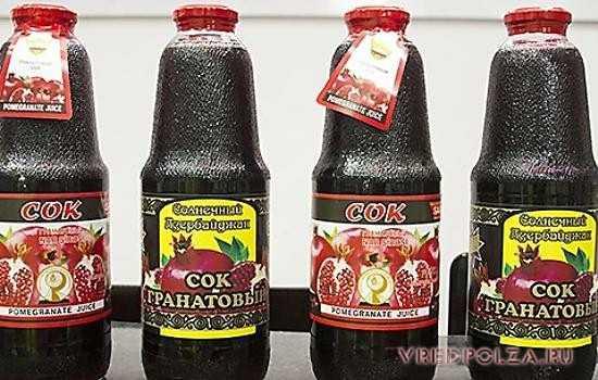 Лучший поставщик качественного сока из граната – Азербайджан