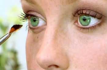 Макияж для зеленоглазых девушек