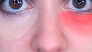 Photo of Лайф-хак по маскировке темных кругов под глазами