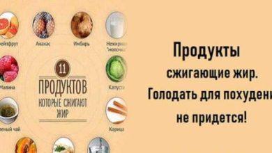 Photo of Продукты сжигающие жир.Голодать для похудения не придется!
