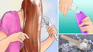 Photo of Насыпь щепотку соли в любимый шампунь.. Ты будешь УДИВЛЕНА!
