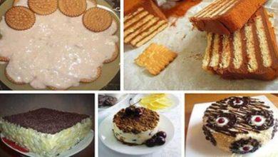 Photo of Торты из печенья без выпечки. 5 лучших рецептов!