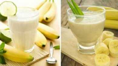 Photo of Банановый напиток, который немедленно сжигает жир желудка