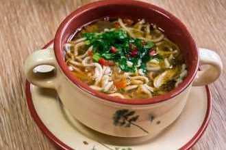 Photo of Куриный суп с секретом. Оторваться невозможно!