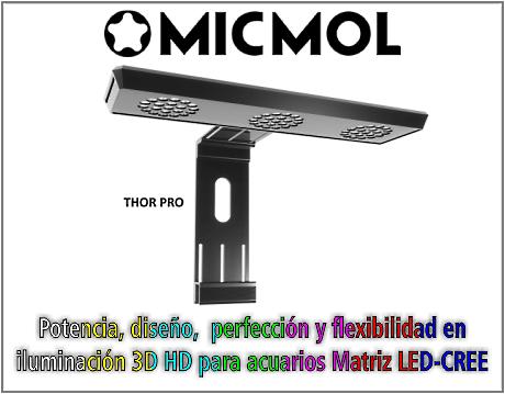 Lámpara de iluminación THOR PRO 180W
