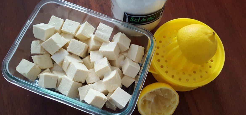 Tofu Feta Fait Maison Homemade Feta Tofu Cora Loomis Nutritionniste