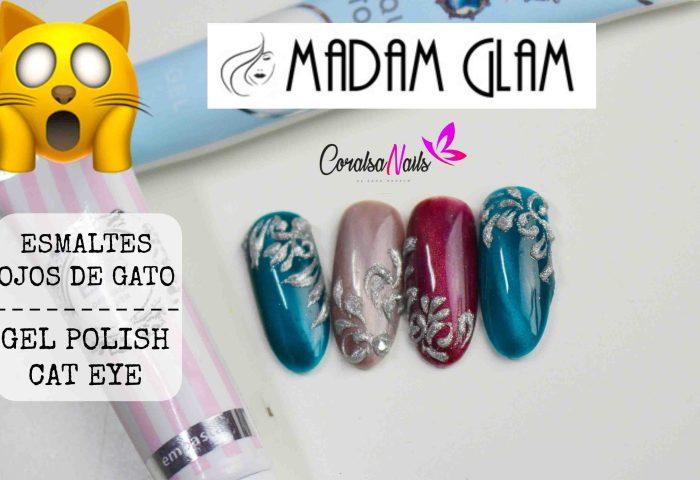 Madam Glam Esmaltes Ojos De Gato Coralsanails