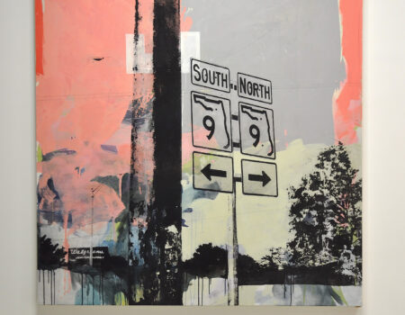 South North | mixed media