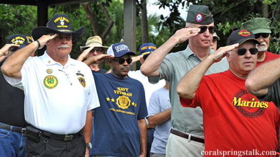 The City of Coral Springs Commemorates Memorial Day at Veterans Park