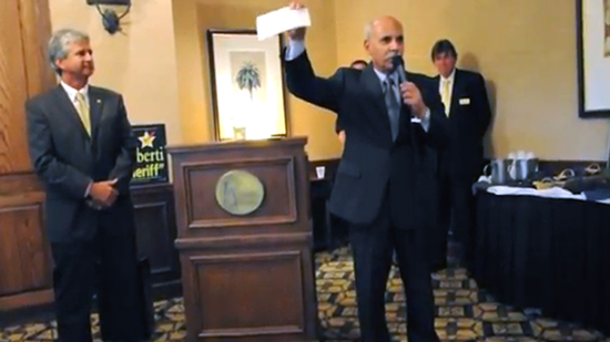 Sheriff Al Lamberti Rallies Supporters for his Reelection