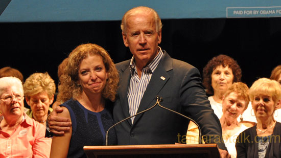 Vice President Joe Biden Makes Several South Florida Stops