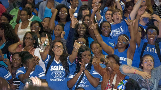 Coral Springs High School Gets Ultimate Pep Rally From Local Radio Station