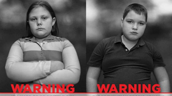 "Ads Featuring Overweight Children Stop ""Sugarcoating"" Childhood Obesity"