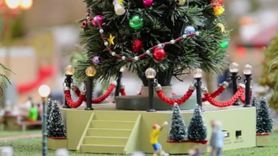 Model Railroad Enthusiasts Will Love this Winter WonderLand