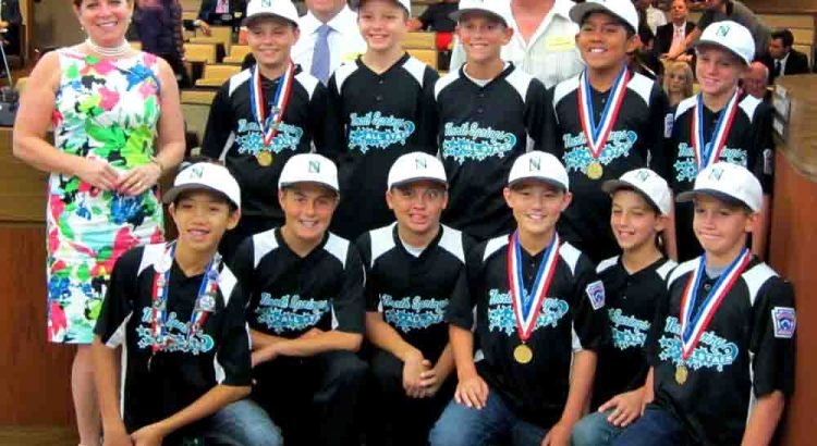 Coral Springs Little League Team Get Proclamation From Broward County