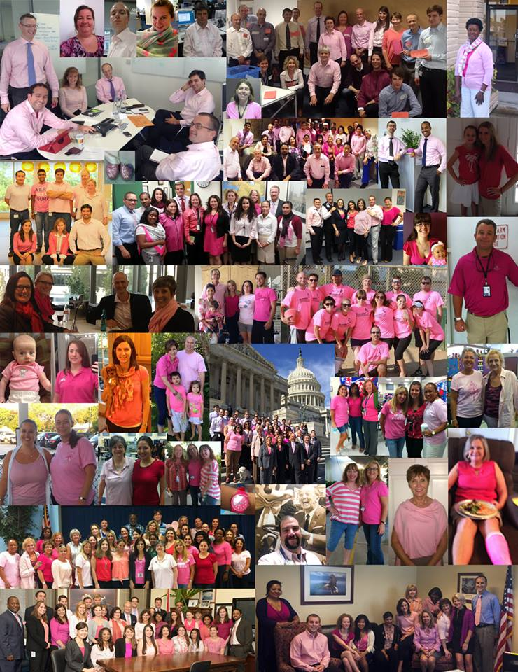 Members of Congress Wear Pink in Support of Hostage Bob Levinson ...