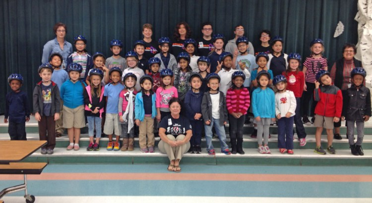 Parkside Elementary Students Learn Important Bike Safety Lessons