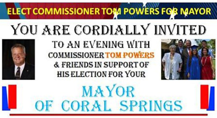 Coral Springs Candidates Hold Kickoff Parties