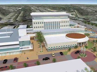 Phase I of the new Coral Springs City Hall