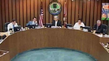 City Commission meeting on Wednesday evening