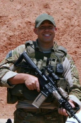 Staff Sgt. Brian Mast before his injury in Afghanistan