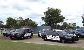 Coral Springs Police on the scene - Photo from Twitter