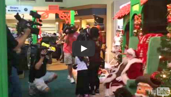 Woman Receives Surprise from Returning Soldier Caught on Video