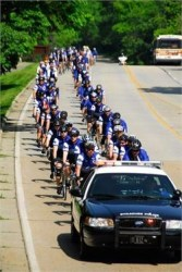 Proceeds go towards the Police Unity Tour