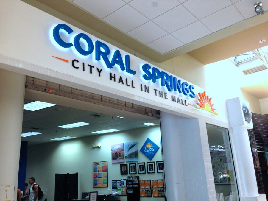 City Hall in the Mall - Photo by Coral Springs Talk