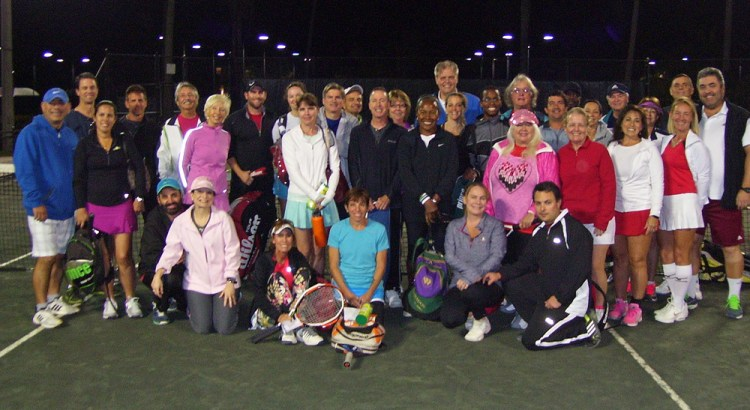 Tennis Center Hosts Valentine's Day Mixed Doubles Round Robin