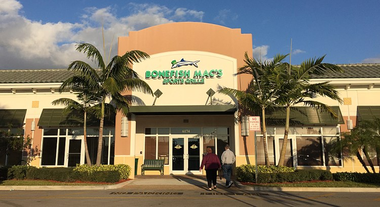 Review: Bonefish Mac's Sports Grille In Coral Springs: Good News Travels Fast