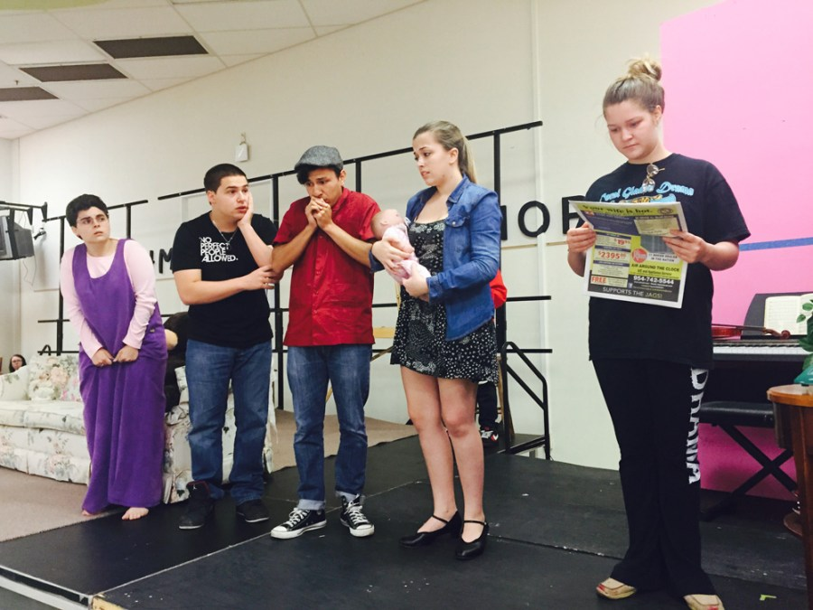 "Coral Glades Students perform in ""Curious Savage"" this weekend."