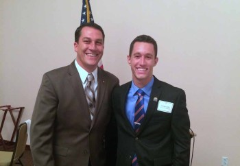 Vice Mayor Larry Vignola and Gregory Ohl