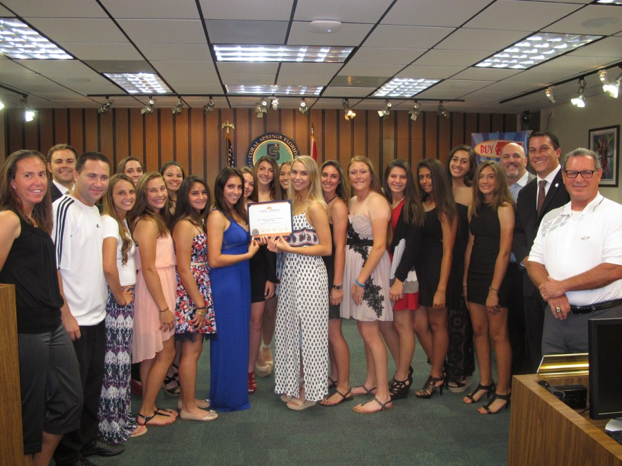 Coral Springs Charter School Softball State Champions
