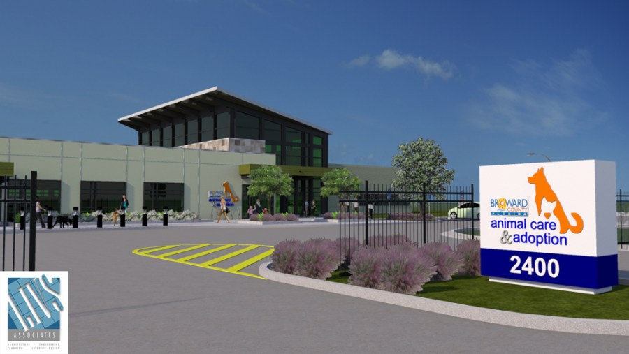 New Broward County Animal Care Building set to open in 2016