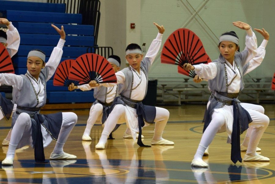 The Taipei Youth Folk Sports Group -  Photos by  Johnson Ng of United Chinese News of Florida