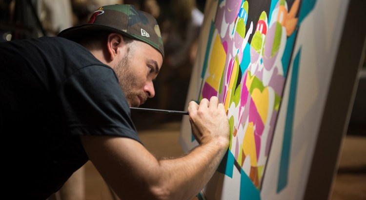 Photos From the Grand Opening of the ArtWalk