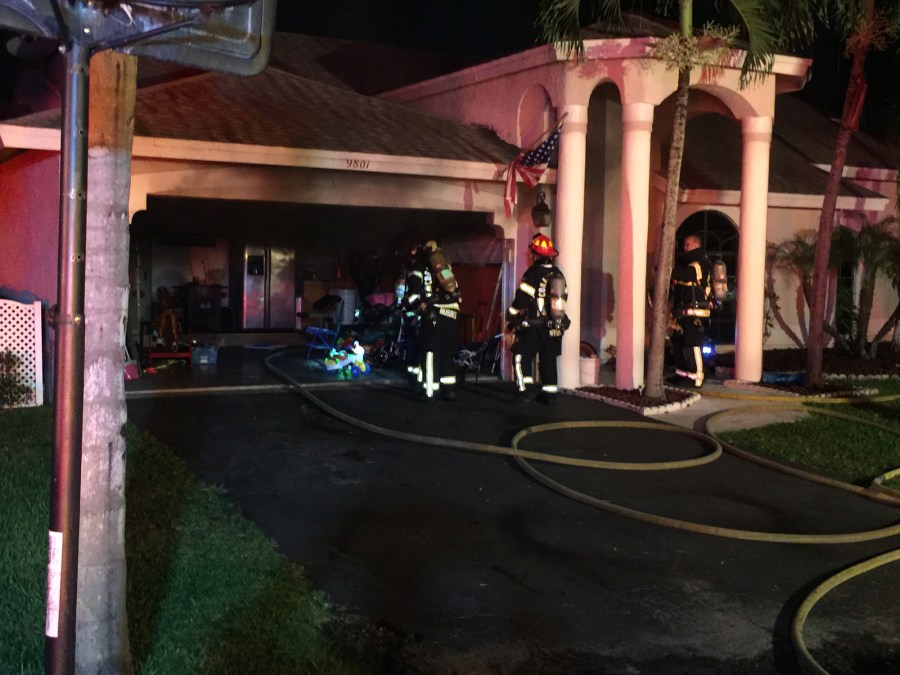 Photo Courtesy Coral Springs Fire Department