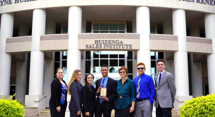 JP Taravella Students Win Big at Business Competition