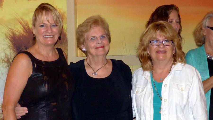 Coral Springs Commissioner Joy Carter, Friends of Music Honoree Barbara Corrigan, Coral   Springs Museum of Art Honoree Linda Anderson