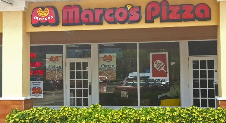 Authentic Pizza Lovers: Marco's Pizza Opens in Coral Springs