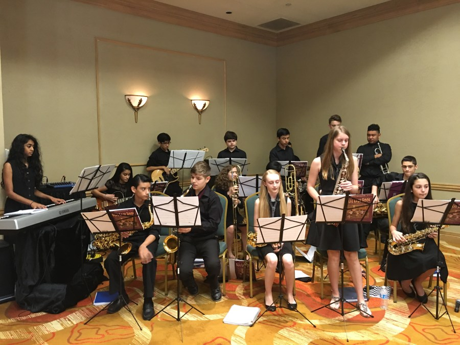 Coral Springs Middle School Jazz Band