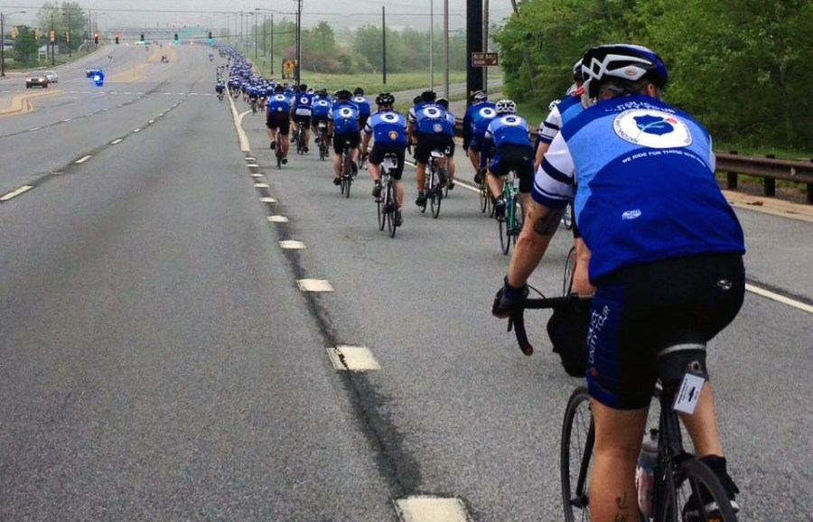 Photo courtesy South Florida Chapter Police Unity Tour