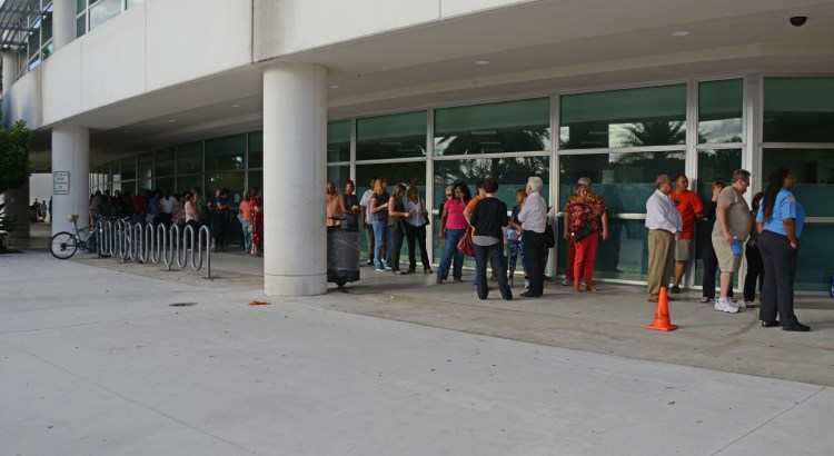Photos:  Early Voting in Coral Springs