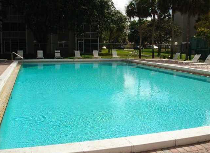 Pool at Sherwood Square Apartments.