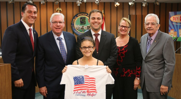 City Seeks Students to Lead Pledge of Allegiance at Commission Meetings