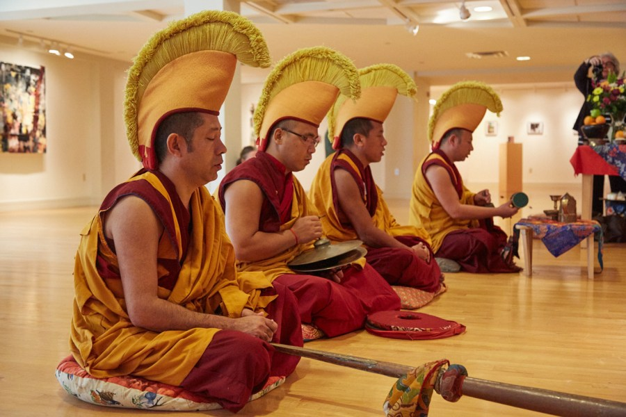 Tibetan Monks. Photo by Julian Restrepo for the City of Coral Springs.